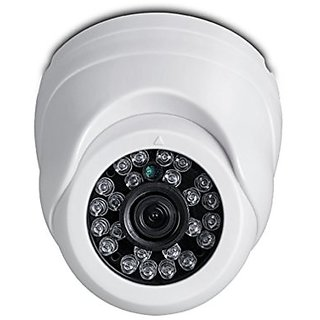 CCTV 960P 1.3MP HD Resolution Dome Camera with Day  Night Vision  IR Range upto 20Mtr. with 24 LEDs - iB-HDD932PM