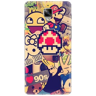 OnePlus 3T Printed Back Cover By CareFone