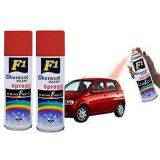 F1 Car Multi Purpose Lacquer Spray Paint Red Colour (Set Of 2)_H5SP02