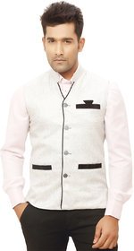 Kandy Silver Nehru Jacket