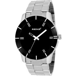Redux Explorer Analog Black Dial Men's Watch-RWS0007S