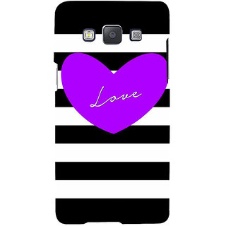 Ifasho Designer Back Case Cover For Samsung Galaxy A3 (2015) :: Samsung Galaxy A3 Duos (2015) :: Samsung Galaxy A3 A300F A300Fu  A300F/Ds A300G/Ds A300H/Ds A300M/Ds (Love Design Love And Love Only Love Express Love Key Chains For Couples)