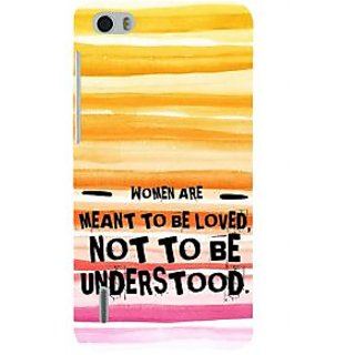 Ifasho Designer Back Case Cover For Huawei Honor 6 (Understanding Understood Samajh)
