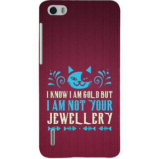 Ifasho Designer Back Case Cover For Huawei Honor 6 (Pertinence  Education City)