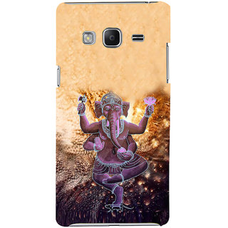 Ifasho Designer Back Case Cover For Samsung Galaxy Z3 Tizen :: Samsung Z3 Corporate Edition (Ganesh Santiago Spiritual Tshirt For Men Rajampet)