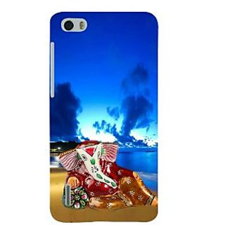 Ifasho Designer Back Case Cover For Huawei Honor 6 (Ganesh Singapore 7 Spiritual Laws Of Success Suryapet)