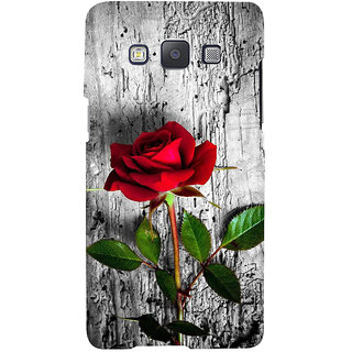 Ifasho Designer Back Case Cover For Samsung Galaxy A3 (2015) :: Samsung Galaxy A3 Duos (2015) :: Samsung Galaxy A3 A300F A300Fu  A300F/Ds A300G/Ds A300H/Ds A300M/Ds (Lotus Grandiloquent  Rose Keychain Effloresce Bloom Flourish Open)