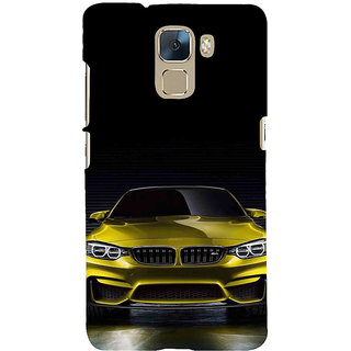 Ifasho Designer Back Case Cover For Huawei Honor 7 :: Huawei Honor 7 (Enhanced Edition) :: Huawei Honor 7 Dual SIM (Golf Course Photography Cameras)