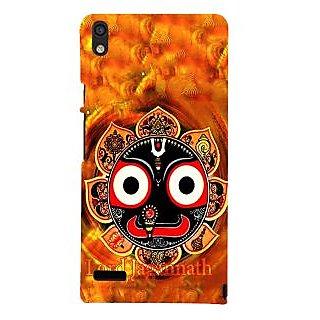 IFasho Designer Back Case Cover For Huawei Ascend P6 (Lord Jagannath Vishnu Wall Stickers Northkorea Vishnu Nd Lakshmi Photos)