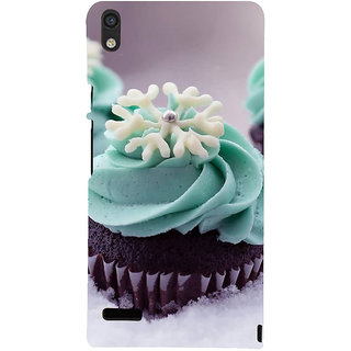 IFasho Designer Back Case Cover For Huawei Ascend P6 (Cake London Uk Adityapur)