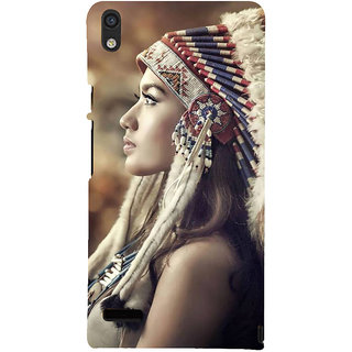 IFasho Designer Back Case Cover For Huawei Ascend P6 (Girl Haerbin China Y Girl Clothes 10 Years)