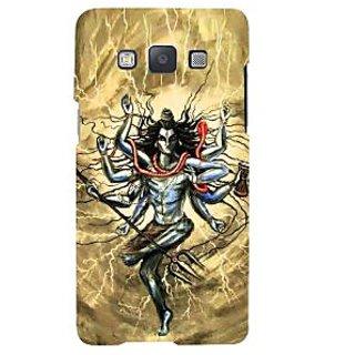 Ifasho Designer Back Case Cover For Samsung Galaxy A7 (2015) :: Samsung Galaxy A7 Duos (2015) :: Samsung Galaxy A7 A700F A700Fd A700K/A700S/A700L A7000 A7009 A700H A700Yd (Lord Siva Tandava Dance Pyongyang Northkorea Bhuj)