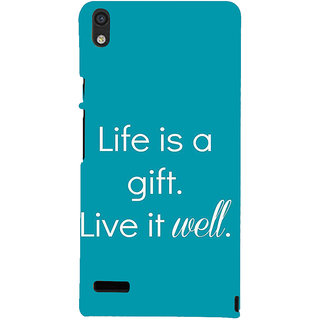IFasho Designer Back Case Cover For Huawei Ascend P6 (Relation  Education Of Department)