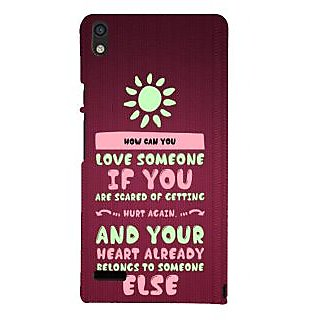 IFasho Designer Back Case Cover For Huawei Ascend P6 (Consociation  County Of Education)