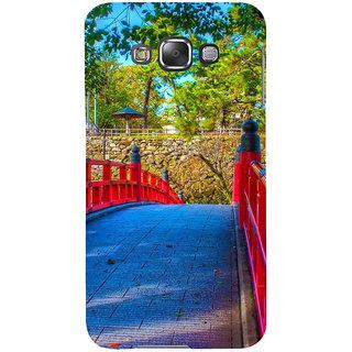 Ifasho Designer Back Case Cover For Samsung Galaxy E7 (2015) :: Samsung Galaxy E7 Duos :: Samsung Galaxy E7 E7000 E7009 E700F E700F/Ds E700H E700H/Dd E700H/Ds E700M E700M/Ds  (Paver Construction Road )