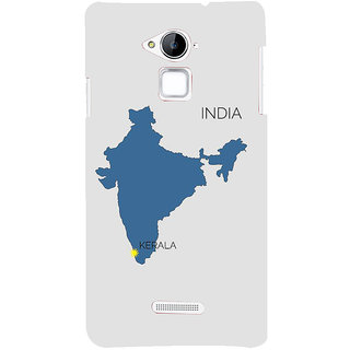 IFasho Designer Back Case Cover For Coolpad Note 3 ( Map Wall Chart  Map Cushion Cover  Map Lapel Pin  Map Gps For Car)