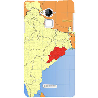 IFasho Designer Back Case Cover For Coolpad Note 3 ( Map Poster  Map Dreamland  Map Large  Map Gps)