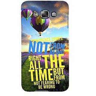 Ifasho Designer Back Case Cover For Samsung Galaxy E7 (2015) :: Samsung Galaxy E7 Duos :: Samsung Galaxy E7 E7000 E7009 E700F E700F/Ds E700H E700H/Dd E700H/Ds E700M E700M/Ds  (Fear Run Parachute Concept Sunset)