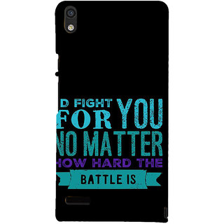 IFasho Designer Back Case Cover For Huawei Ascend P6 (Past  Heredity)