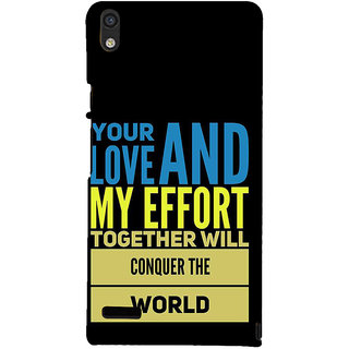 IFasho Designer Back Case Cover For Huawei Ascend P6 (Semblance  Glasgow Dating)