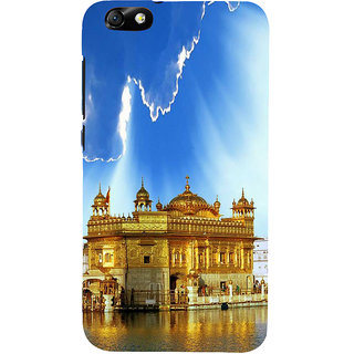 IFasho Designer Back Case Cover For Huawei Honor 4X :: Huawei Glory Play 4X (Golden Temple Harmandir Saheb Roma Italy Saharanpur)