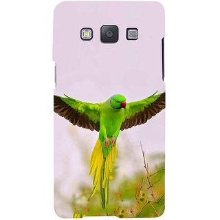 Ifasho Designer Back Case Cover For Samsung Galaxy A7 (2015) :: Samsung Galaxy A7 Duos (2015) :: Samsung Galaxy A7 A700F A700Fd A700K/A700S/A700L A7000 A7009 A700H A700Yd (Senegal Rose Breasted Cockatoo)