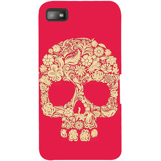 IFasho Designer Back Case Cover For BlackBerry Z10 (Skeleton Taiyuan Scary Teeth Scary Remote Control Toys)
