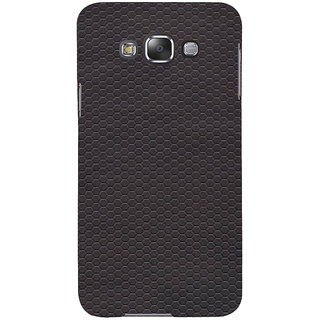 Ifasho Designer Back Case Cover For Samsung Galaxy E7 (2015) :: Samsung Galaxy E7 Duos :: Samsung Galaxy E7 E7000 E7009 E700F E700F/Ds E700H E700H/Dd E700H/Ds E700M E700M/Ds  (Ring Hexagonal Anti Circles Circle)