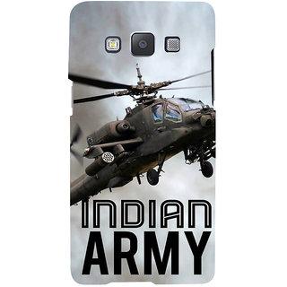 Ifasho Designer Back Case Cover For Samsung Galaxy A7 (2015) :: Samsung Galaxy A7 Duos (2015) :: Samsung Galaxy A7 A700F A700Fd A700K/A700S/A700L A7000 A7009 A700H A700Yd (Indian Army Indian Navy Pilot Driver )