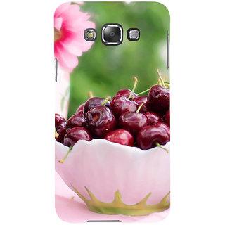 Ifasho Designer Back Case Cover For Samsung Galaxy E7 (2015) :: Samsung Galaxy E7 Duos :: Samsung Galaxy E7 E7000 E7009 E700F E700F/Ds E700H E700H/Dd E700H/Ds E700M E700M/Ds  (Fruits Dalian Kaju Dry Fruits 1Kg Fruits Vegetables Cutter)