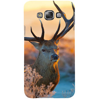 Ifasho Designer Back Case Cover For Samsung Galaxy E7 (2015) :: Samsung Galaxy E7 Duos :: Samsung Galaxy E7 E7000 E7009 E700F E700F/Ds E700H E700H/Dd E700H/Ds E700M E700M/Ds  (Deer Cali Colombia Raigarh)