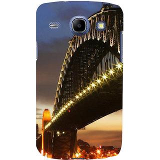 Ifasho Designer Back Case Cover For Samsung Galaxy Core I8260 :: Samsung Galaxy Core Duos I8262 (Monument Osaka Japan Jabalpur)