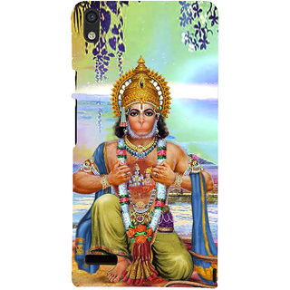 IFasho Designer Back Case Cover For Huawei Ascend P6 (Hanuman Hanuman Rings For Boys Hanuman Photo Hanuman Necklace)