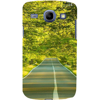 Ifasho Designer Back Case Cover For Samsung Galaxy Core I8260 :: Samsung Galaxy Core Duos I8262 (Road Scenary Tianjin China Ludhiana)