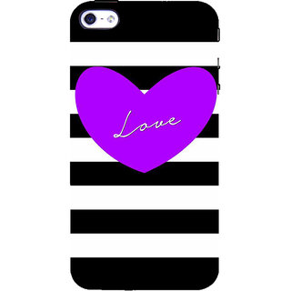 IFasho Designer Back Case Cover For   4S (Love Design Love And Love Only Love Express Love Key Chains For Couples)