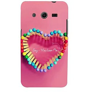 Ifasho Designer Back Case Cover For Samsung Galaxy Core 2 G355H :: Samsung Galaxy Core Ii :: Samsung Galaxy Core 2 Dual (Love Love Gifts For Boyfriend D Love Kurti Love Jewellery For Couples)