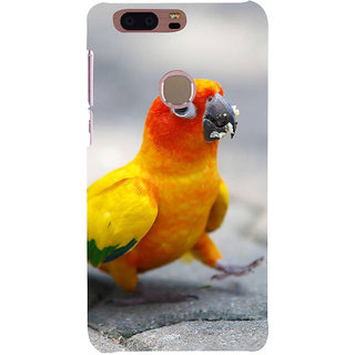 Ifasho Designer Back Case Cover For Huawei Honor 8 (Vegetables Fruits Grasses Parrot Cup Small Parots)