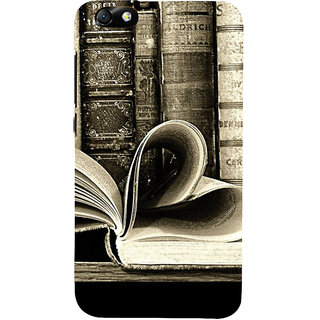 IFasho Designer Back Case Cover For Huawei Honor 4X :: Huawei Glory Play 4X (Love Love Books Love Heart L Love Money)