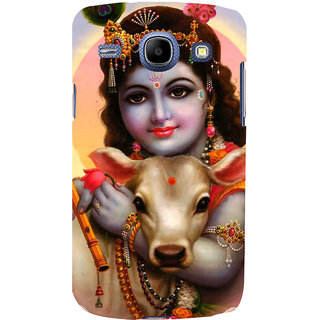 Ifasho Designer Back Case Cover For Samsung Galaxy Core I8260 :: Samsung Galaxy Core Duos I8262 (Krishna Mexico (Mexico City) Mexico Vishnu Trilogy)