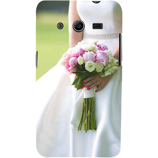 Ifasho Designer Back Case Cover For Samsung Galaxy Core 2 G355H :: Samsung Galaxy Core Ii :: Samsung Galaxy Core 2 Dual (Brahma Kamal Jovial  Rose Nozzle Tip Nonpareil Elite Cream Inexpedience)