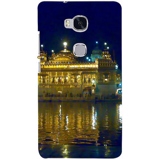 Ifasho Designer Back Case Cover For Huawei Honor 5X :: Huawei Honor X5 :: Huawei Honor GR5 (Gurudwar Sikhism Holiest Amritsar Punjab)