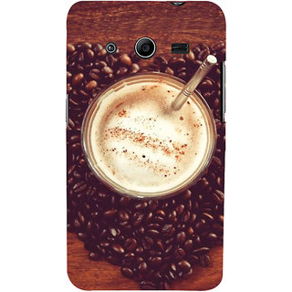 Ifasho Designer Back Case Cover For Samsung Galaxy Core 2 G355H :: Samsung Galaxy Core Ii :: Samsung Galaxy Core 2 Dual (Coffee Day Coffee Espresso Coffee Flask)