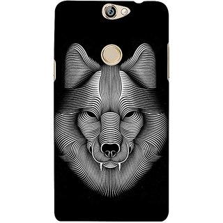 IFasho Designer Back Case Cover For Coolpad Max (Dog Dress Dog Ear Cleaner Dog Bowl)