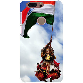 Ifasho Designer Back Case Cover For Huawei Honor 8 (Kathakali Dance Indian Flag Boarder War)