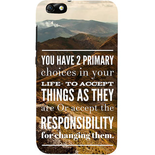 IFasho Designer Back Case Cover For Huawei Honor 4X :: Huawei Glory Play 4X (Care Mountains Scenary Interest)