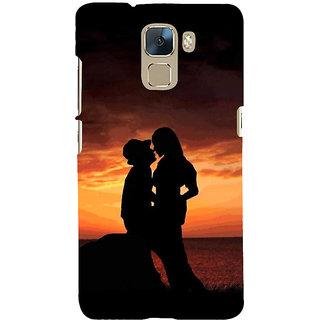 Ifasho Designer Back Case Cover For Huawei Honor 7 :: Huawei Honor 7 (Enhanced Edition) :: Huawei Honor 7 Dual SIM (Noun Agreement Similarity  Dating Christian)