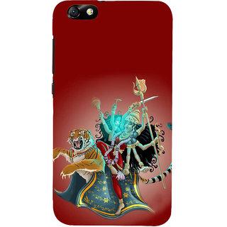 IFasho Designer Back Case Cover For Huawei Honor 4X :: Huawei Glory Play 4X (Durga 7 Spiritual Laws Of Success Deepak Chopra China Kolkata)
