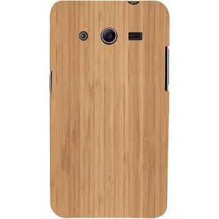 Ifasho Designer Back Case Cover For Samsung Galaxy Core 2 G355H :: Samsung Galaxy Core Ii :: Samsung Galaxy Core 2 Dual (Carmen Electra Song Lyrics Wood O Plast)