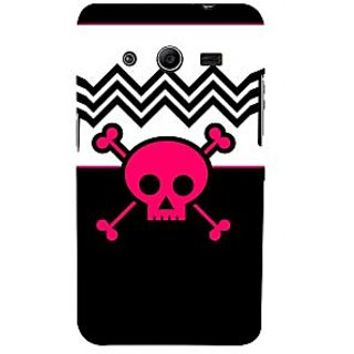 Ifasho Designer Back Case Cover For Samsung Galaxy Core 2 G355H :: Samsung Galaxy Core Ii :: Samsung Galaxy Core 2 Dual (Skeleton Mashhad Scary Wall Posters Scary Stickers)