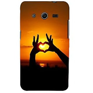Ifasho Designer Back Case Cover For Samsung Galaxy Core 2 G355H :: Samsung Galaxy Core Ii :: Samsung Galaxy Core 2 Dual (Love Love Chain Love In The Time Of Cholera Love Meter)